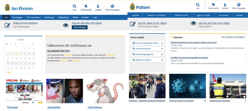 Jon Ehrsson VS Polisen